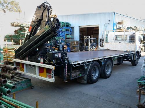 Pro Ranger 14 with Crane (11.2 tonne capacity)